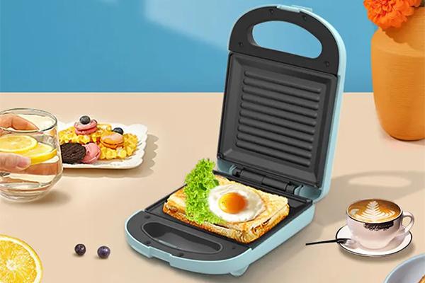 【美菱】多功能三明治早餐机,一机多用,煎烤多能。多样性制作